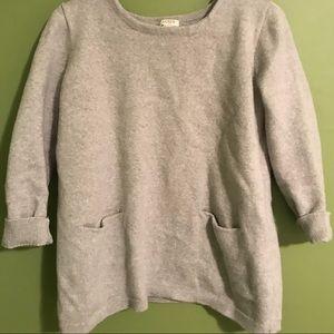 J. Crew cream sweater